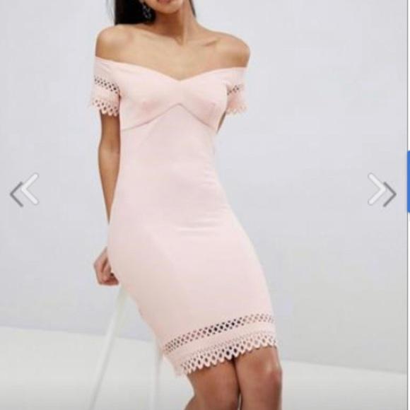 ASOS Dresses & Skirts - ⭐️ ASOS Pink Eyelet Dress
